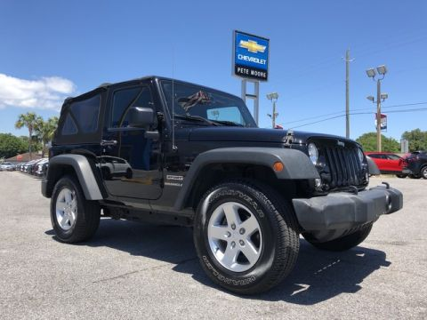 Pre-Owned 2015 Jeep Wrangler Sport Four Wheel Drive Sport Utility
