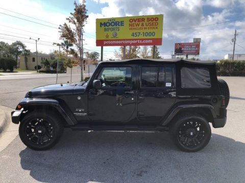 Pre-Owned 2017 Jeep Wrangler Unlimited Sahara Four Wheel Drive Sport Utility