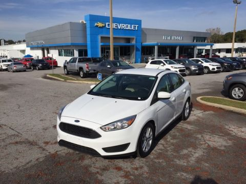 Pre-Owned 2018 Ford Focus SE Front Wheel Drive 4dr Car
