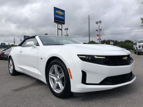 Pre-Owned 2019 Chevrolet Camaro 1LT Rear Wheel Drive Convertible