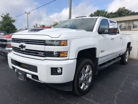 Pre-Owned 2018 Chevrolet Silverado 2500HD LTZ Four Wheel Drive Standard Bed