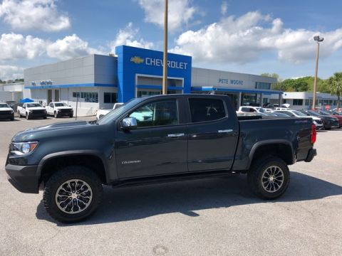 Pre-Owned 2017 Chevrolet Colorado 4WD ZR2 Four Wheel Drive Short Bed