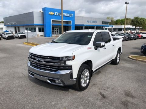 Pre-Owned 2019 Chevrolet Silverado 1500 LTZ Four Wheel Drive Short Bed