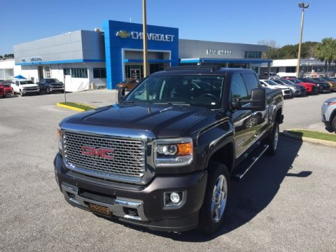 Pre-Owned 2015 GMC Sierra 2500HD available WiFi Denali Four Wheel Drive Standard Bed