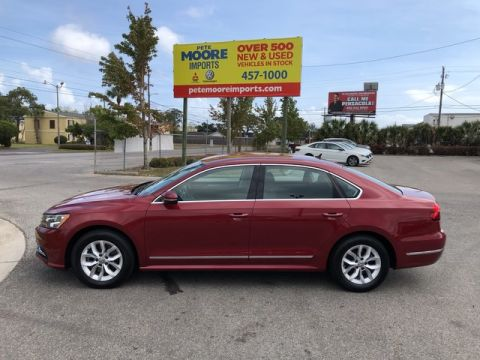 Pre-Owned 2017 Volkswagen Passat 1.8T S Front Wheel Drive Sedan