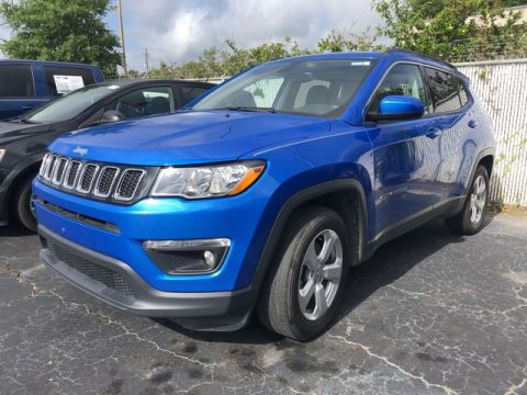 Pre-Owned 2018 Jeep Compass Latitude Front Wheel Drive SUV