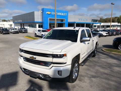 Pre-Owned 2016 Chevrolet Silverado 1500 LTZ Four Wheel Drive Short Bed