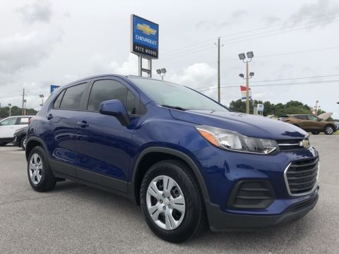 Pre-Owned 2017 Chevrolet Trax LS Front Wheel Drive Sport Utility