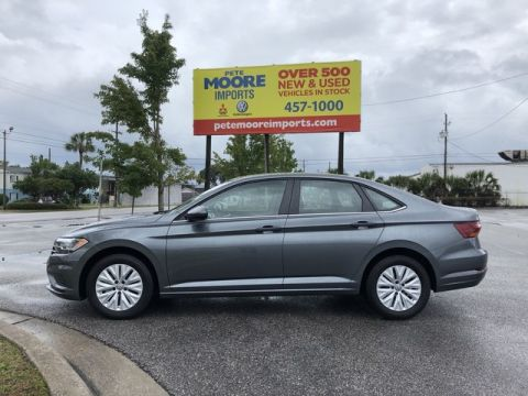 Certified Pre-Owned 2019 Volkswagen Jetta S Front Wheel Drive Sedan
