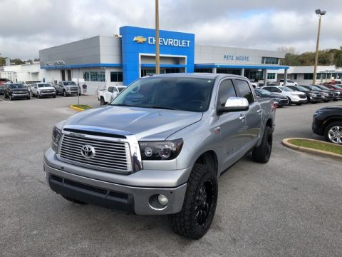 Pre-Owned 2012 Toyota Tundra 4WD Truck LTD Four Wheel Drive Short Bed