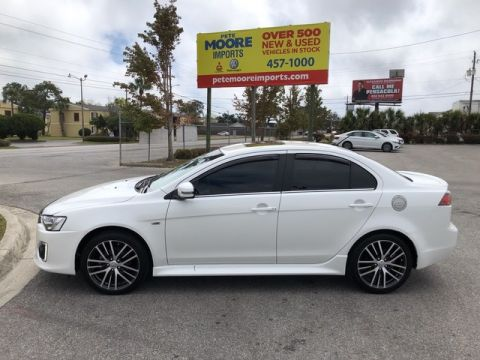 Pre-Owned 2017 Mitsubishi Lancer SEL Four Wheel Drive Sedan