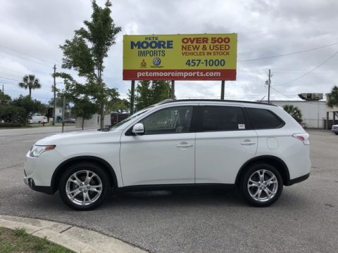 Pre-Owned 2015 Mitsubishi Outlander SE Front Wheel Drive SUV