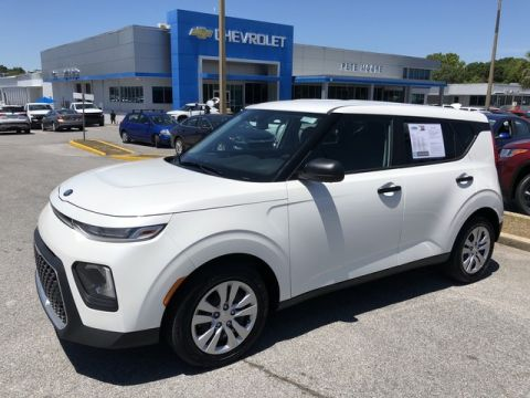 Pre-Owned 2020 Kia Soul LX Front Wheel Drive Hatchback