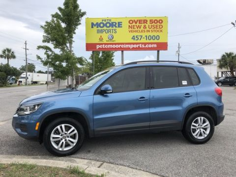 Pre-Owned 2017 Volkswagen Tiguan S Front Wheel Drive SUV